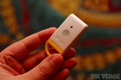 This is what I needed last year when I lost my son at a Christmas parade. Stick this device in your child's pocket (or attach it to a belt loop) and the Iphone app will track exactly where your child is. It also beeps so you can hear it when you're close. Love!