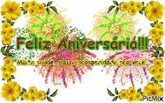 Mensagem de Aniversário - Nova Congratulations, Nova, Movies, Movie Posters, Happy Birthday Sms, Anniversary Message, Happy Birthday Photos, Films, Film Poster