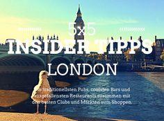 Die 5x5 Insider Tipps London | Lilies Diary | Der alltägliche Wahnsinn