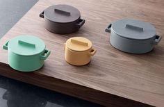 Stefania Vasquez, terracotta pots for Sambonet, from sightunseen.com