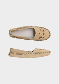 MOCCASIN SLIPPER - Toast UK