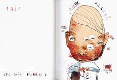 Felix Scheinberger, Illustrator - Skizzen: Aktuelles
