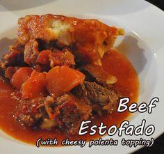 Winter beef recipe: Warm yourself up with Beef Estofado!