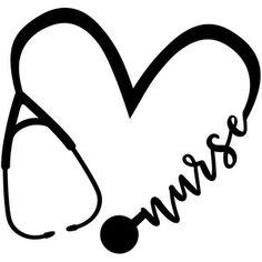 nurse monogram frame silhouette svg dxf file instant