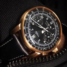 Zeppelin 7676-2 100 Jahre chronograph - tachymeter & telemeter scale - movement Cal. 6S21, quartz-controlled - rose gold coated stainless steel case - diameter: 42 mm - water-resistant up to 5 atm #Zeppelinwatch #Zeppelinwatches #madeingermany #Zeppelin #watch #sendusyourzeppelinpic thx to JR! #watch #watches #watchoftheday #luxury #rolex #timepiece #watchcollector #omega #rolexwatch #swissmade #luxurywatch #chronograph #luxurywatches #watchlover