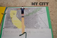 Me on the Map- my city