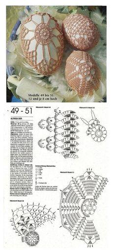 hackovane velkonocne vajcia postup