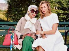 Karlie Kloss et Iris Apfel : la rencontre au sommet de futures meilleures amies ?
