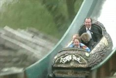 Princess Diana & the boys, (with bodyguard)....lovely to see her having so much fun - you can't help but smile at her reaction!