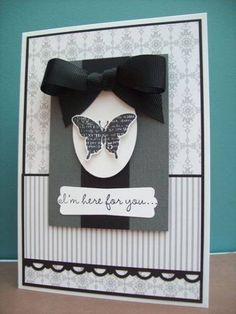 using Stampin Up Bliss