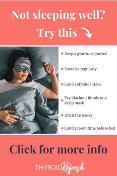 Here are our top tips for regularly sleeping restfully so you can maximize recovery. #sleeptips #fallasleep #sleep #restfulsleep Before Bed, Blackout Blinds, Thyroid Health, Sleep Mask, How To Fall Asleep, Recovery, Room Darkening Blinds, Wilderness Survival, Blackout Curtains
