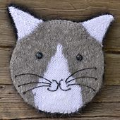 Ravelry: Knit Your Cat Pillow pattern by Colette Smith