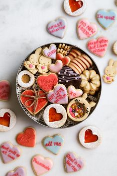 I originally did not plan on doing a Valentine's Day post because I did not want to make something overly 'gimmicky' that was only relevant for a day or so. I also did not plan on making… Valentines Day Cookies, Valentines Day Post, Chocolate Shortbread Cookies, Spritz Cookies, Sugar Cookie Dough, Sugar Cookies Recipe, Homemade Cookies, Cookie Recipes, Cookie Box