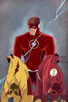 Dc Speedsters, Batman Concept, The Flash Season, Season 8, Justice League Comics, Dr Fate, Speed Force, Wally West, Kid Flash
