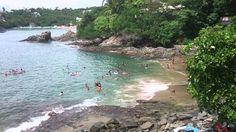 Imagenes de playa la Audiencia en Manzanillo Colima