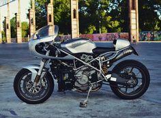 Ducati Cafe Racer, Cafe Racers, Custom Cafe Racer, Scrambler, Motorcycle, Bike, Vehicles, Cars, Motorbikes