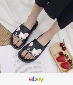 c0d47041aa052 Women Fashion Summer Slippers Flats Slip On Sandals Shoes Flip Flops Chic  Summer Slippers