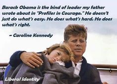 Jfk Presidency, Profiles In Courage, Freedom Of Religion, Caroline Kennedy, Current President, Smart People, Worlds Of Fun, Social Justice, Barack Obama