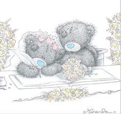 Flor de lótus: Um ursinho chamado tatty-teddy !