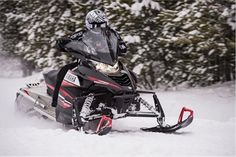 "The latest from Yamaha. It is a model snowmobiles for 2014. The model is marked ""RS Viper LTX"" and is powered by a very powerful engine type 4-stroke, three-cylinder and displacement of 1049cc.Engine hefty falls in the class of High Performance Genesis. Mention the model will go on sale in October"