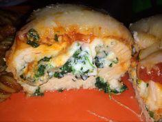 Delicious Chicken Rollatini w/ Spinach alla Parmigiana!