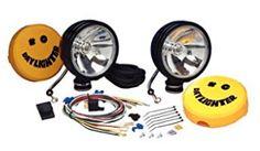 Kc Hilites Daylighter Off-Road Lights Halogen Set Of 2 Round Pair 238 Bulbs For Sale, Light Covers, Lighting System, W 6, Black Spot, Car Lights, Motor, Offroad, Beams