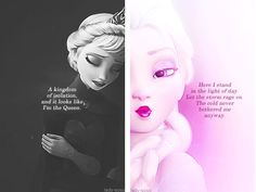 """Elsa... The transformation of Elsa during """"Let It Go"""" is amazing!!!!"""