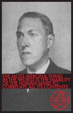 ****** HP Lovecraft Quote Poster by tesl8 on Etsy, $4.00