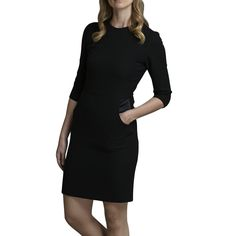 Black wool dress similar to the one worn by Phoebe in chapter sixteen
