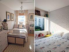 Como decorar um quarto pequeno + 20 quartos pequenos para você se inspirar…