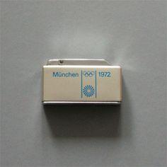 Otl Aicher 1972 Munich Olympics - Lighters Matchbooks and Matchboxes