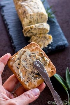 Learn to make several types of compound butter, sweet and savory flavored butters used to enhance meats and vegetable dishes, or as a tasty spread. Herb Butter, Butter Pecan, Flavored Butter, Compound Butter, Salad Bar, Culinary Arts, Vegetable Dishes, I Love Food, Pumpkin Spice