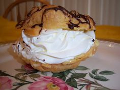 What's Cookin' Italian Style Cuisine: Margaret Ann Fanelli Colenzo's Cream Puffs Vintage Recipe