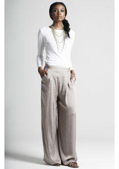 Oooh nice wide legged trousers