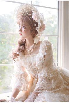 Kawaii Fashion, Lolita Fashion, Character Reference, Drawing Reference, Character Design, Real Costumes, Kawaii Dress, Asian Cute, Vintage Outfits