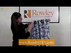 How to make curtains.. all types, including videos on How-To Use Grommet Tape.  This product makes for a professional looking grommet curtain.  Must get!