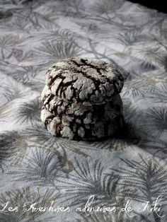 Les Aventures culinaires de Kiki: Biscuits craquelés au chocolat