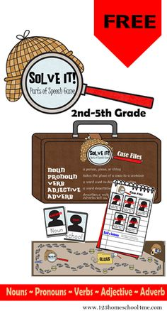 Solve It! is a fun, easy to play, educational game for 2nd grade, 3rd grade, 4th grade, and 5th grade students. Students will solve case