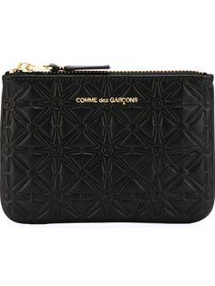 Comme Des Garçons Wallet 'classic Embossed A' Purse - O' - Farfetch.com