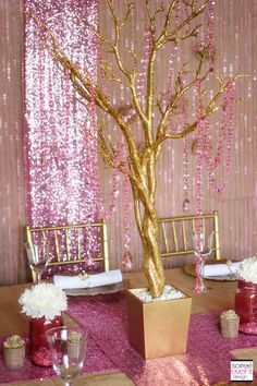 Rustic Glam wedding table design by Tonya Coleman of Soiree Event Design for Koyal Wholesale