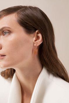 Imperial Topaz Earrings | Kathleen Whitaker