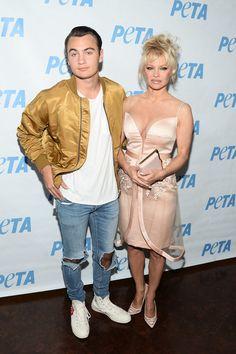 Pamela Anderson Photos - LA Launch Party for Prince's PETA Song - Zimbio