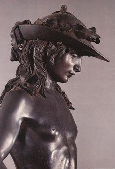 Musée National du Bargello, Florence  Donatello David 1430-1432,détails