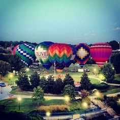 Hot Air Baloons in Chattanooga