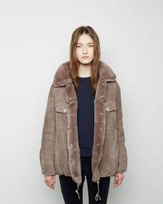 Acne Studios  Meta Shearling Jacket