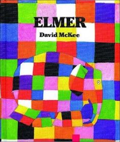 Elmer is different, he isn't gray like all the other elephants, and he's a little bit of a goof too! He's not so sure he likes that though. Like all of us it takes some time for Elmer to accept who he is but in the end he sees that patchwork is just who he is!