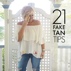 The only safe tan is a fake tan. It's not for everyone but as a regular faker, here are my 21 fake tan tips to give you a glow this spring-summer.