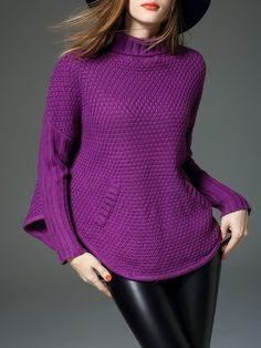Shop Sweaters - Purp