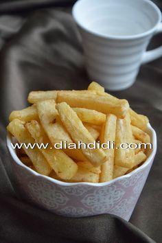 Diah Didi's Kitchen: Stick Singkong Goreng, Renyah di Luar..Empuk dan Lembut di Dalam..^^