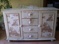 1000+ images about muebles entelados on Pinterest  Mesas de luz, French chic...